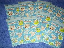 10 sheets Neopets Kadoatie JUMBO stickers w/ RARE ITEM CODE party favor acidfree