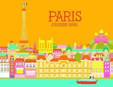 Paris Coloring Book (2014, Paperback)