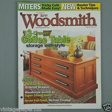 WoodSmith - 3-Drawer Coffee Table, Kitchen Pot Rack, 5-Tier Display Tower Plans
