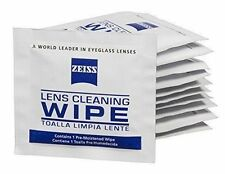 100x Zeiss Pre-Moistened Lens Cloths Wipes  Glasses Camera Phone LCD Cleaning