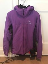 Arc'teryx Women's Atom Lt Hoody, Violet, Large, BRAND NEW NEVER WORN