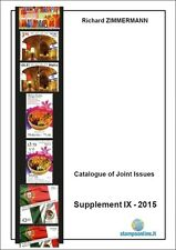 2015 Catalogue of Joint Issues supplement IX