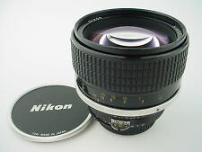 Nikon 85mm f/1.4 NIKKOR Ai-S Lens, with Caps - very good used condition