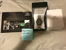 Orient Mako USA II Mens Automatic Watch (SAA0200AB9) - BLACK (Sold out online)