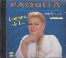 Paquita La Del Barrio con Banda Lampara Sin Luz CD New Nuevo Sealed