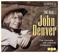 John Denver - The Real...John Denver, 3CD Neu