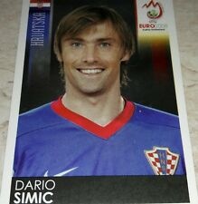 FIGURINA CALCIATORI PANINI EURO 2008 CROAZIA SIMIC ALBUM
