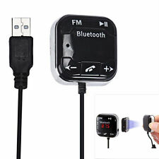Mini Bluetooth Car Kit MP3 Player FM Transmitter Modulator Dual USB SD+Charger