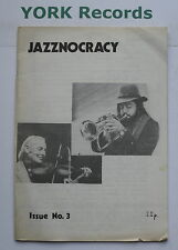JAZZNOCRACY MAGAZINE - ISSUE 3 - Newport Jazz Festival / Dr Jazz /Billie Holiday