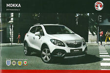 VAUXHALL MOKKA 2013 MODELS BROCHURE EDITION No2 VM1210436 03.13 (UK)