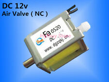 12V DC Mini small Electric Solenoid Valve for Gas Air N/C normally closed