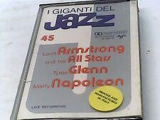 Giants of Jazz 45 - Armstrong, Glenn, Napoleon- Cassette - SEALED