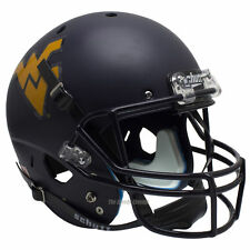 WEST VIRGINIA MOUNTAINEERS SCHUTT XP FULL SIZE REPLICA FOOTBALL HELMET
