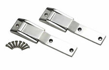 Tailgate Hinge Pair Polished Stainless Jeep Wrangler TJ 1997-2004 30478