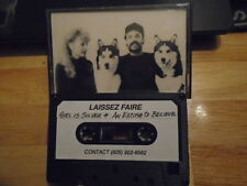 RARE PROMO Laissez Faire DEMO CASSETTE TAPE rock 2 UNRELEASED Santa Barbara '90s