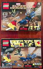 New 76039 ANT-MAN FINAL BATTLE Lego set Marvel Avengers FREE SHIPPING
