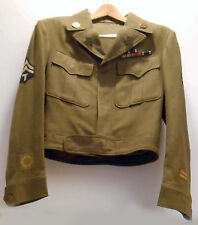 WWII  US ARMY 76th INFRANTRY DIVISION ORIGINAL WW2 IKE JACKET UNIFORM