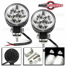2pcs 3in 12W 4 LED Work Light Bar Fog Rowe Offroad BOAT TRUCK ATV SUV (SPOT)