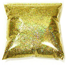 "11oz / 325ml  Gold Jewels Holographic Metal Flake .015""  Paint Additive LF1711"
