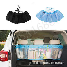 Car Trunk Organizer Seat Cover Toys DVD Storage Container Bags Automobiles pouch