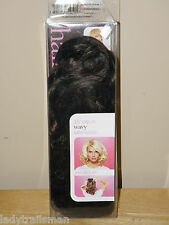 "HairDo Salon Clip-In Hair Extensions 15"" WAVY CHOCOLATE COPPER"