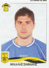 N°032 MICHALIS SIFAKIS ARIS SALONIKI STICKER PANINI GREEK GREECE LEAGUE 2010