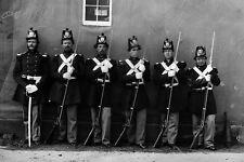 New 5x7 Civil War Photo: Six Marines with Fixed Bayonets at the Navy Yard - 1864