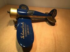 EASTWOOD AIR #1 E-01 TRAVEL AIR R DIE CAST AIRPLANE BANK BY LIBERTY  1:32 SCALE