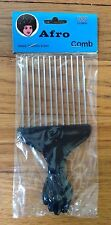 Vintage Afro Comb Pick Pik with a Fist Handle 1970's era disco Sealed Pacakge