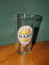 HARP LAGER 12 OUNCE BEER GLASS, BREWED IN IRELAND BY GUINNESS