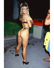 RACQUEL DARRIAN IN THONG SEXY POSE 8X10 COLOR PHOTO