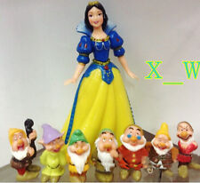 8PCS  New Disney Snow White and the Seven Dwarfs figures set
