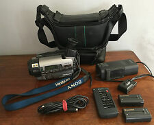 SONY Hi8 Video Handycam CCD-TR3100E PAL SuperSteadyShot Camcorder 42x Cassette