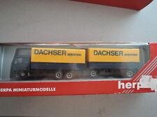 Herpa 142953 Mercedes Hänger-Sattelzug Dachser Spedition Sammlung in OVP (10)