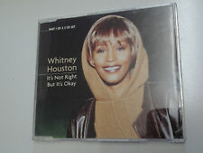 Whitney Houston It's Not Right But It's Okay CD Single incls Club 69 mix