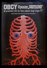 ALIEN * CineMasterpieces VINTAGE POLISH ORIGINAL MOVIE POSTER 1979
