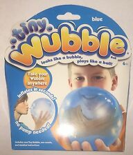 Tiny Wubble BLUE Bubble Ball New Sealed