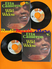 LP 45 7'' ETTA CAMERON Wild widow If you should go 1976 italy BARCLAY cd mc dvd