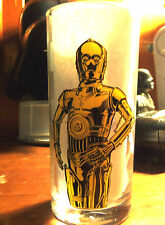 Star Wars Foreign Belgium C3PO Special Edition Trilogy 7up Pepsi Orange Glass