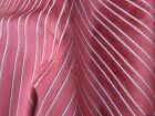 Contempary very heavy upholstery fabric velvet with woven stripe 80x54 inch