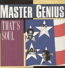 MASTER GENIUS - That's Soul - BREAK RECORDS