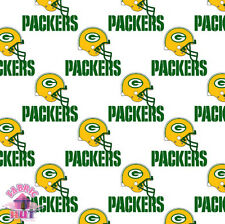140226004 - Green Bay Packers NFC NFL 1026 W 100% Cotton Team Fabric by the Yard