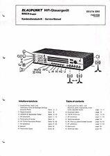 Service Manual für Blaupunkt Delta 3092, 7 624 530