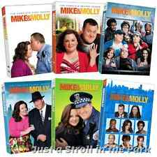 Mike and & Molly: CBS TV Series Complete Season 1 2 3 4 5 6 Box/DVD Set(s) NEW!