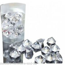 12 LARGE DIAMOND DECORATIVE STONES, ORNATE CRYSTALS PERFECT FOR DISHES AND JARS