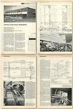 1961 Furniture Showrooms For Cheshire's Of Nottingham