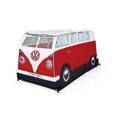 Volkswagen Camper Van Childrens Red Pop Up Play Tent