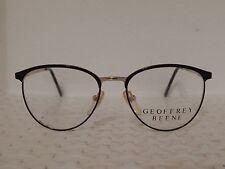 Geoffrey Beene GB1069 BLU-135 Vintage 80's Womens Eyeglasses (TF14)