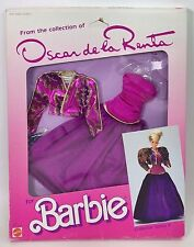 1985 FROM THE COLLECTION OF OSCAR DE LA RENTA FOR BARBIE COLLECTOR SERIES X NIB