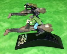 Star Wars Speeder Bike Endor Luke Skywalker Princess Leia Micro Machines Galoob